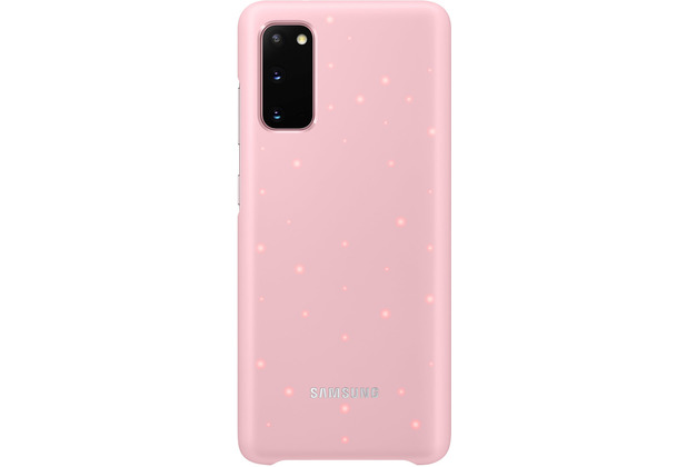 Samsung LED Cover Galaxy S20_SM-G980, pink