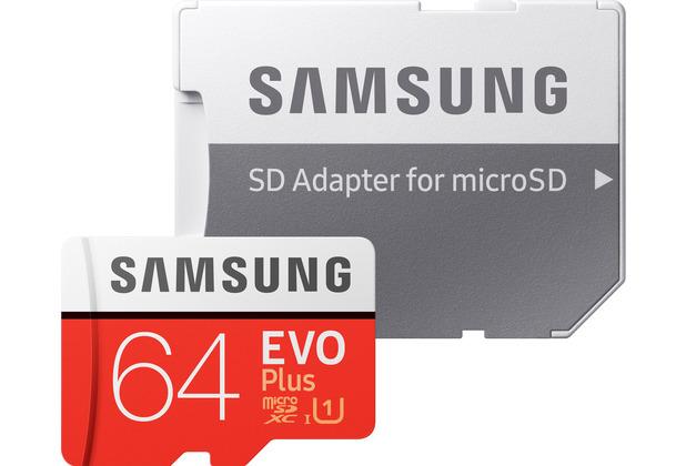 Samsung Micro SD Karte EVO Plus (2020) 64GB
