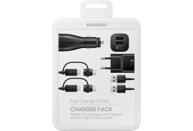 Samsung Multi-Ladekabel-Set, Schwarz