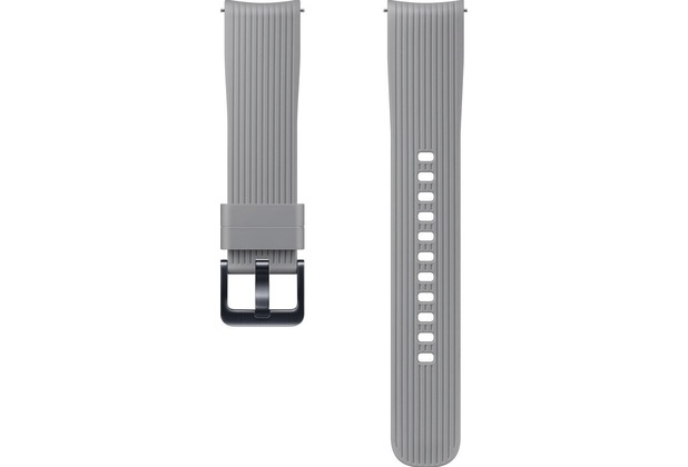 Samsung Silicone Armband (20 mm), Galaxy Watch, gray