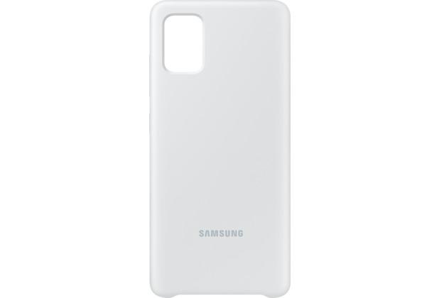 Samsung Silicone Cover EF-PA515 für Galaxy A51, White