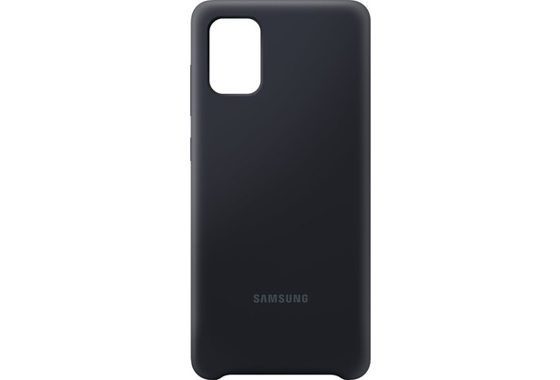 Samsung Silicone Cover EF-PA715 für Galaxy A71, Black