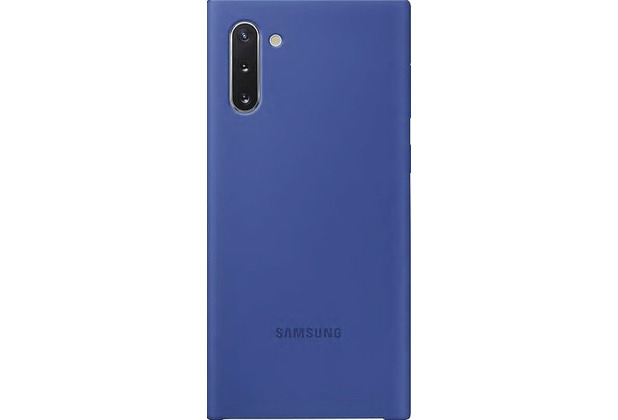 Samsung Silicone Cover Galaxy Note 10 blau
