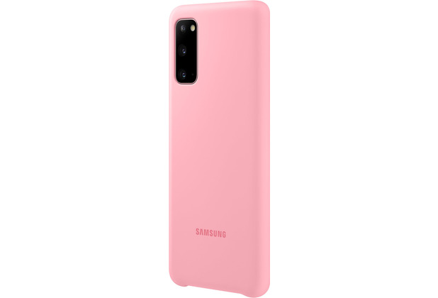 Samsung Silicone Cover Galaxy S20_SM-G980, pink