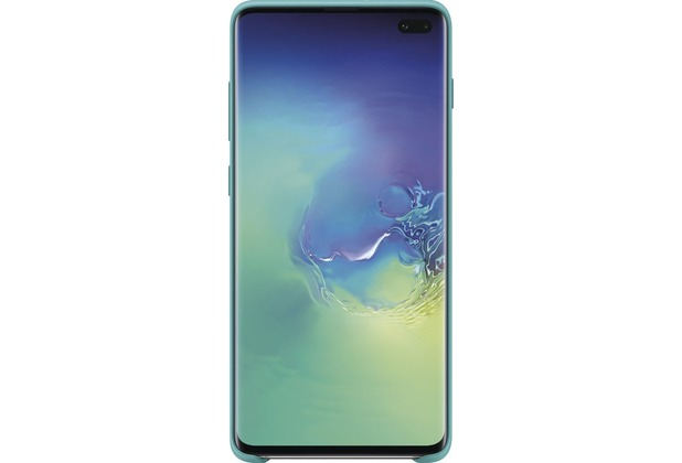 Samsung Silicone Cover Galaxy S10+, green