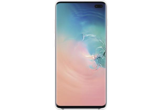 Samsung Silicone Cover Galaxy S10+, white