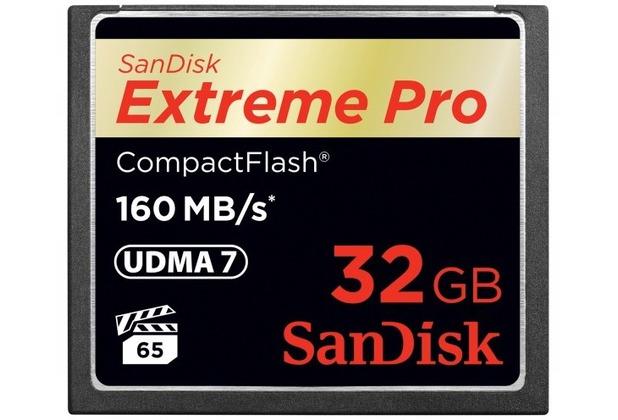 Sandisk CF Card 32GB Sandisk 160MBs UDMA-7 ExtremePro