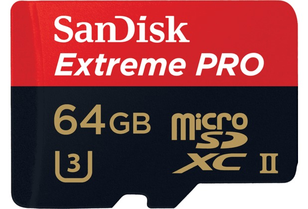 Sandisk MicroSDXC UHS-II 64GB Extreme PRO