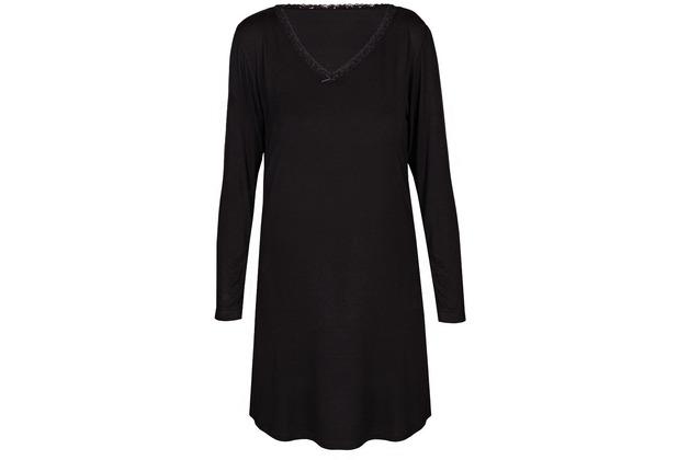 Sassa Loungewear Nachthemd black 36
