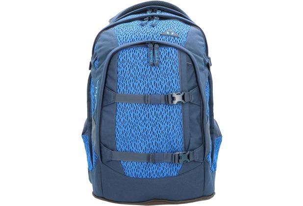 satch Pack Schulrucksack 45 cm Laptopfach blue moon