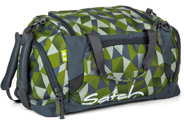 satch Sporttasche 50 cm green crush grün polygon