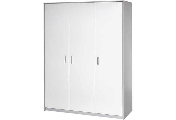 Schardt Classic Grey Schrank 3 Türen, grau / weiß