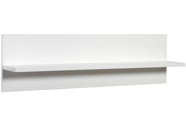 Schardt Classic White Wandbord 1 Ablage, weiß