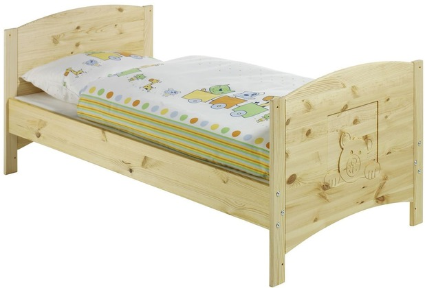 Schardt Dream Kombi-Kinderbett 70x140 cm, Kiefer massiv / geölt
