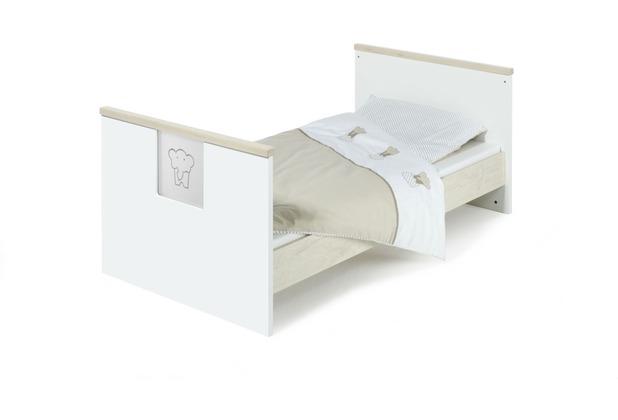 Schardt Eco Slide Kombi-Kinderbett 70x140 cm, Lancelot / weiß