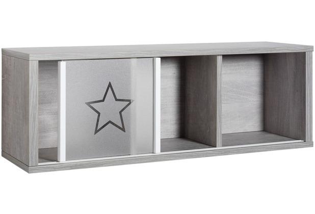 Schardt Eco Star Wandbord 3 Fächer, Driftwood / weiß