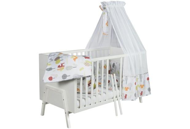 Schardt Holly White Kombi-Kinderbett 70x140 cm, weiß