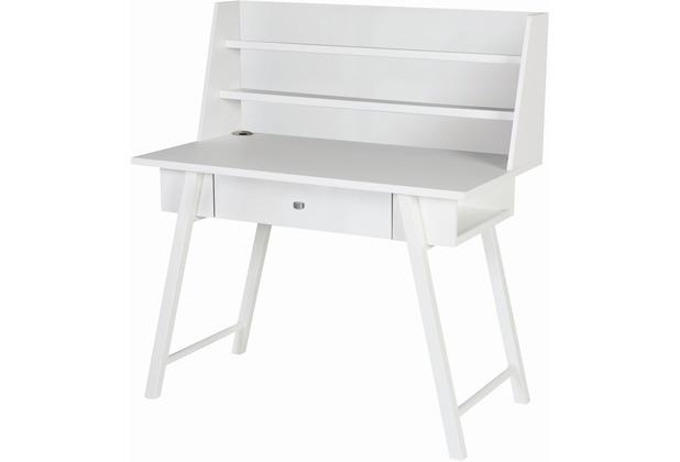Schardt Holly White Schreibtisch, 1 Schub, weiß