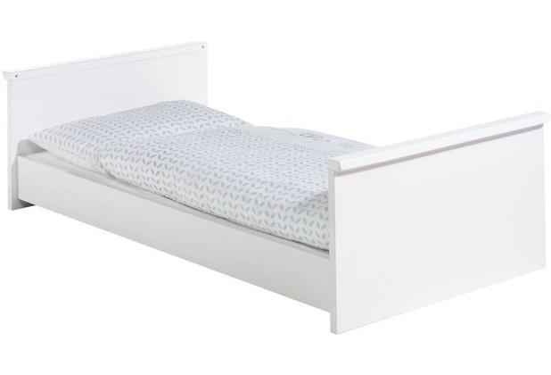 Schardt Maximo Weiß Kombi-Kinderbett 70x140 cm, weiß