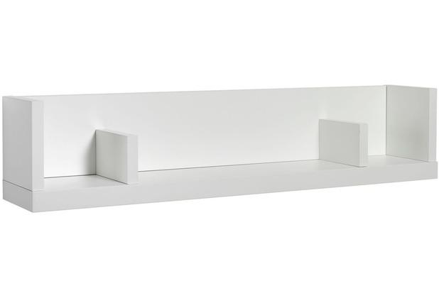 Schardt Maximo Weiß Wandbord 1 Ablage, weiß