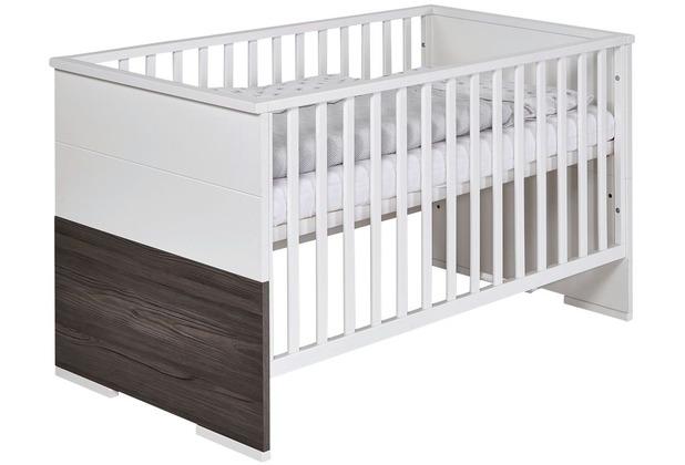 Schardt Maxx Fleetwood Kombi-Kinderbett 70x140 cm, Fleetwood / weiß