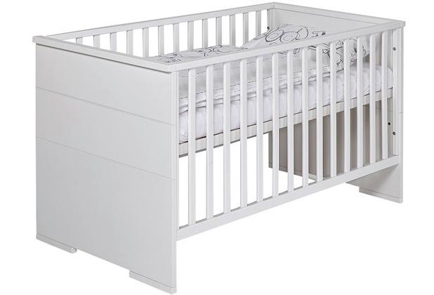 Schardt Maxx White Kombi-Kinderbett 70x140 cm, weiß