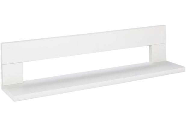 Schardt Miami White/Nordic White Wandbord 1 Ablage, weiß