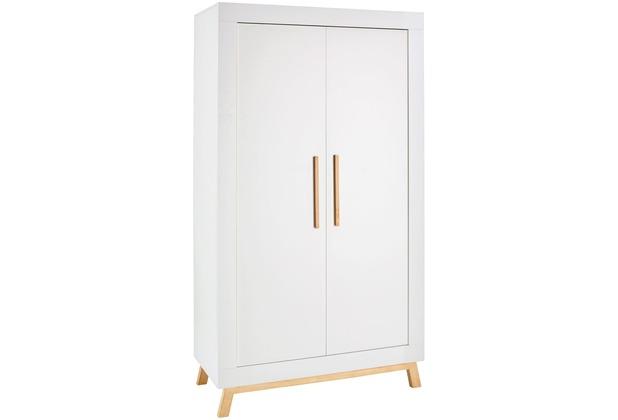 Schardt Miami White Schrank 2 Türen, weiß / geölt
