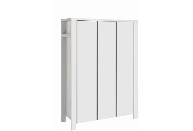 Schardt Milano Weiß Schrank 3 Türen, weiß