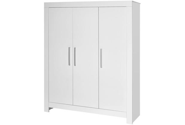 Schardt Nordic White Schrank 3 Türen, weiß