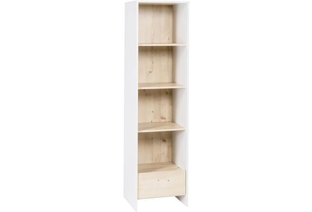Schardt Timber Pinie Standregal weißgrau / Henson Pine