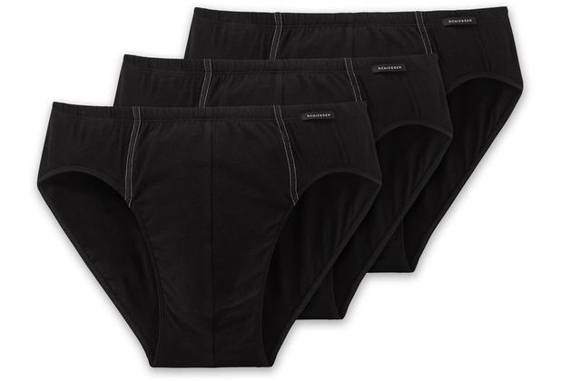 Schiesser 3er Pack Supermini schwarz 205221-000 4