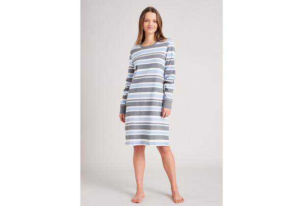 Schiesser Damen Sleepshirt 95cm hellblau 175491-805 36