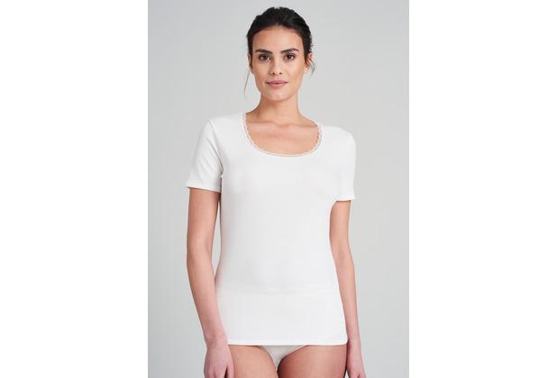 Schiesser Damen T-Shirt vanille 176145-607 36