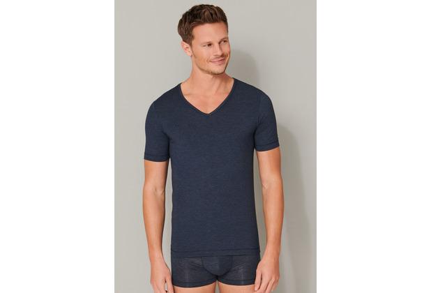 Schiesser Herren Shirt 1/2 nachtblau 165322-804 4