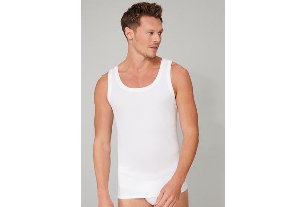 Schiesser Herren Unterhemd weiß 174017-100 4