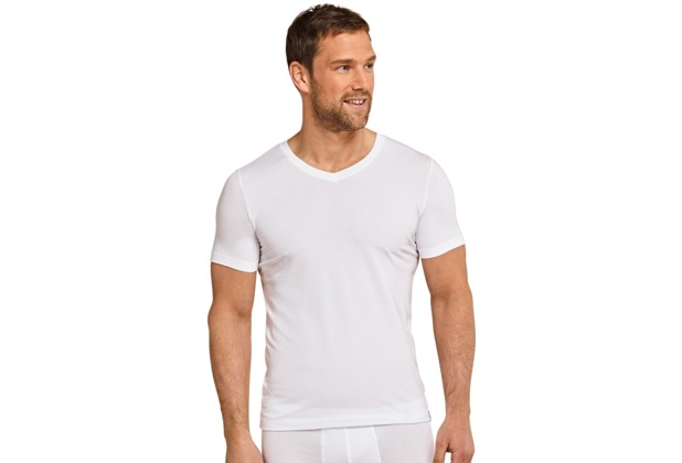 Schiesser Shirt kurzarm weiss 4