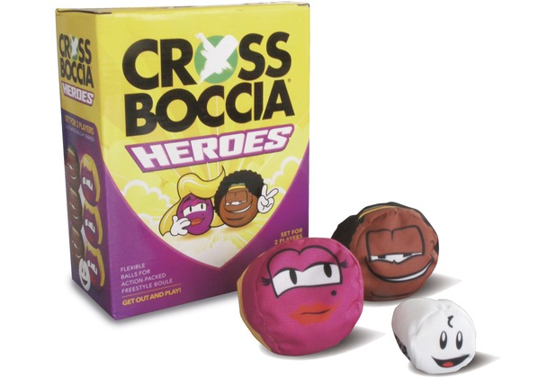 "Crossboccia DOUBLE-PACK HEROES, Design ""Blond+Muffin\"""