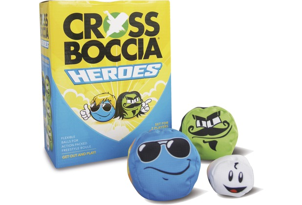 """Crossboccia DOUBLE-PACK HEROES, Design \""""Mexican+Dude\"""""""