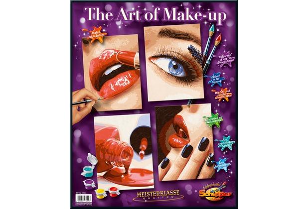 Schipper Malen nach Zahlen - The Art of Make-up (QUATTRO)
