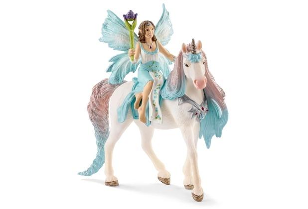Schleich Eyela mit Prinzessinnen-Einhorn