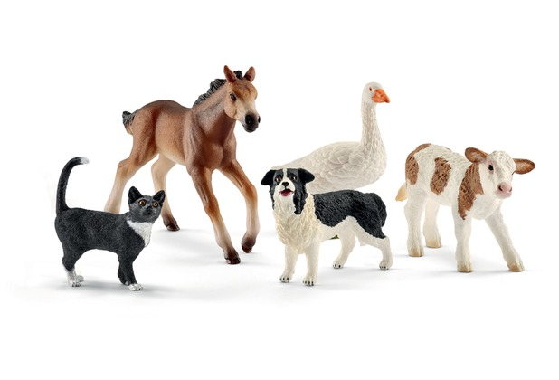 Schleich Farm World Tier-Mix