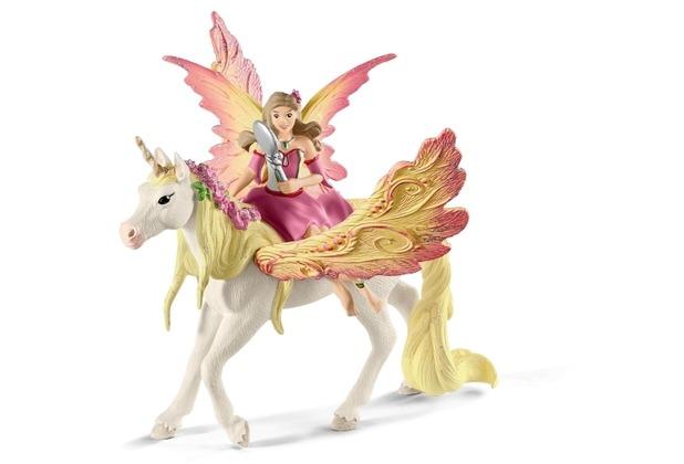 Schleich Feya mit Pegasus-Einhorn