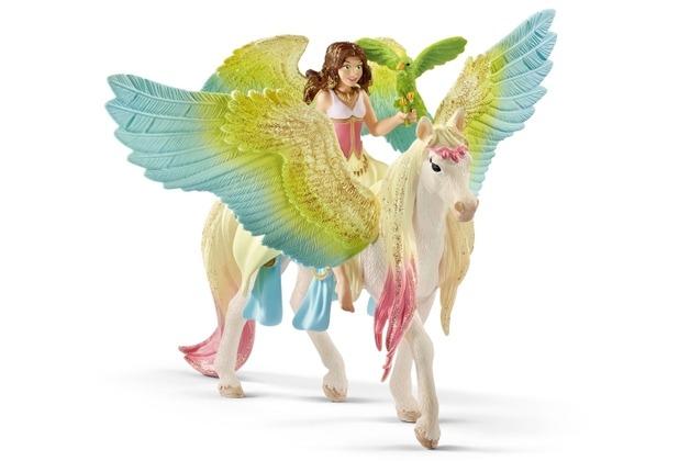 Schleich Surah mit Glitzer-Pegasus