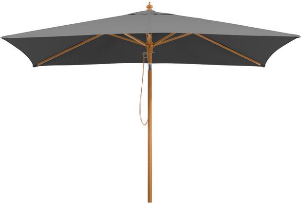 Schneider Schirme Sonnenschirm Malaga 300x200/6 anthrazit