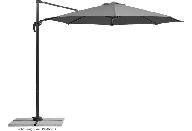 Schneider Schirme Sonnenschirm Rhodos Junior 300/8 anthrazit