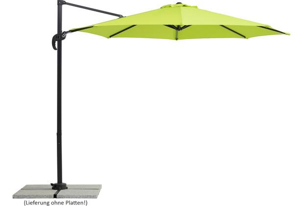 Schneider Schirme Sonnenschirm Rhodos Junior 300/8 apfelgrün
