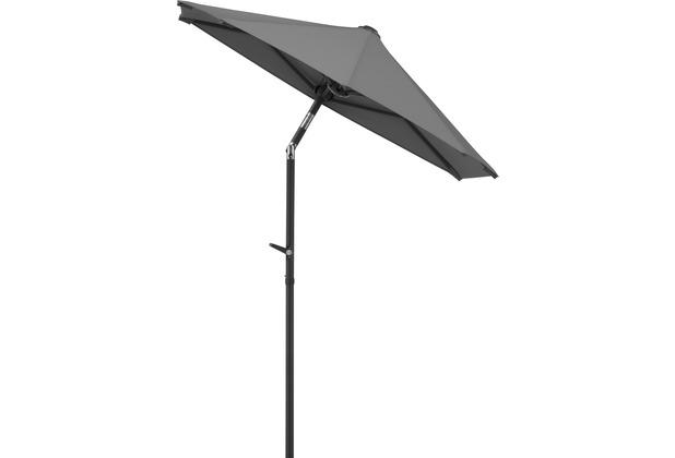 Schneider Schirme Sonnenschirm Salerno mezzo 150x150 anthrazit