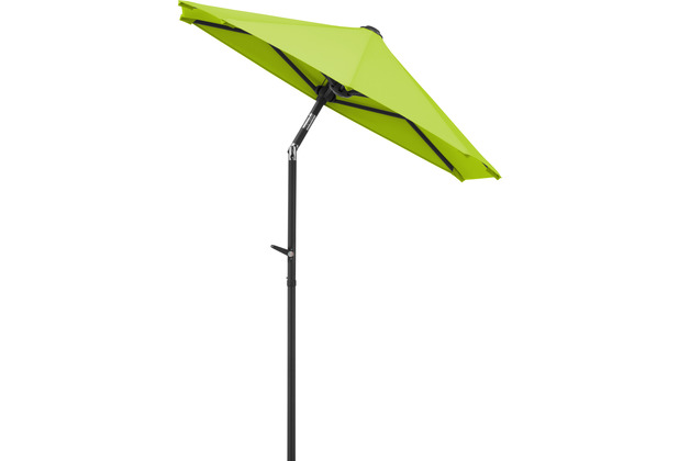 Schneider Schirme Sonnenschirm Salerno mezzo 150x150 apfelgrün