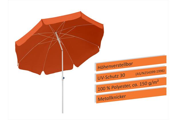 Schneider Schirme Sonnenschirm Ibiza 240/8 terracotta